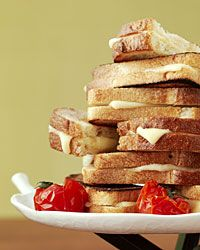 Three-Cheese Grilled Cheese Sandwiches Recipe on Food & Wine