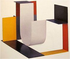 "Katarzyna Kobro ""Spatial Composition (4)"" 1928"