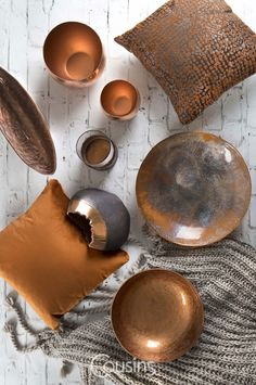Add a warm, cosy feel to your home this winter with our home accessories! Living Room Orange, Living Room Grey, Navy And Copper, Copper Accents, Bronze Bedroom, Grey Lounge, Home Trends, Interior Inspiration, Cosy