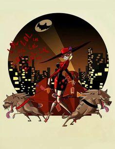 Harley, Bud, and Lou Dc Comics, Harely Quinn, Harley Quinn Comic, Mundo Comic, Dc Characters, Batman Art, Gotham City, Catwoman, Batgirl