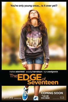 The Edge of Seventeen (NOV 18) R  -  High-school life gets even more unbearable for Nadine when her best friend, Krista, starts dating her older brother.  -    Director: Kelly Fremon Craig  -   Writer: Kelly Fremon Craig  -   Stars: Hailee Steinfeld, Haley Lu Richardson, Blake Jenner  -  COMEDY / DRAMA