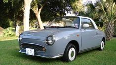 Just the cutest car!    for http://theblogaboutcars.com/wp-content/uploads/2010/04/nissan-figaro-2.jpg