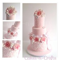 Wedding cake in a day!  - Cake by June milne | CakesDecor