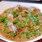 Gordon Ramsay: geurige groene Thaise curry met rundvlees