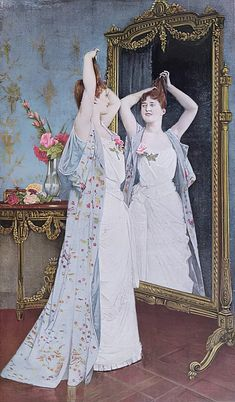 The toilet, 1890 by Auguste Toulmouche as fine art print. High-quality museum quality from Austrian manufactory. Stretched on canvas or printed as photo. We produce your artwork exactly like you wish. With or without painting frame. Exactly Like You, Painting Frames, Fine Art Prints, This Is Us, Museum, Statue, Canvas, Illustration, Artwork