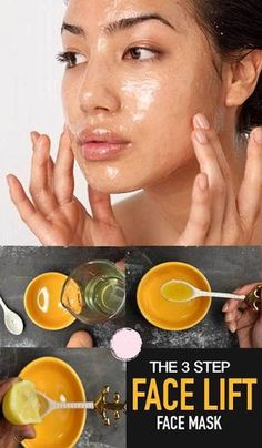DIY Homemade Skin Tightening and Firming Mask Natural Face Lift Mask Beauty Care, Beauty Skin, Health And Beauty, Natural Face Lift, Natural Skin Care, Natural Beauty, Organic Beauty, Natural Makeup, Organic Makeup