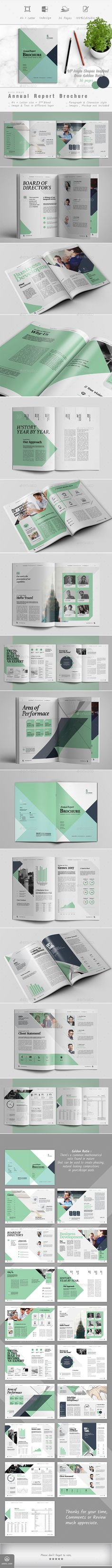 Annual Report - #Corporate #Brochures Download here: https://graphicriver.net/item/annual-report/19206237?ref=alena994