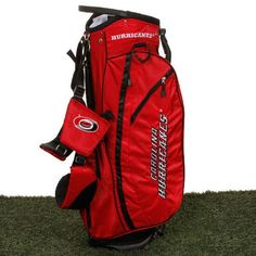 Carolina Hurricanes Fairway Stand Golf Bag - Red - $199.99