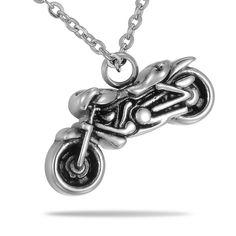 Steel Motorcycle Biker Cremation Jewelry – valyriajewelry.com