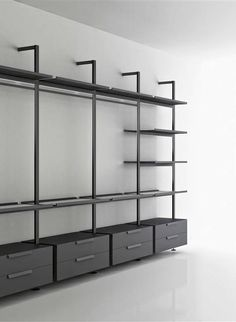 Brompton Storage System designed by Piero Lissoni