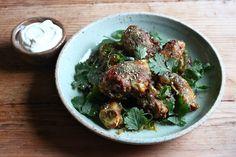 Spiced Chicken Drumsticks with Yoghurt Za atar Coriander_sml