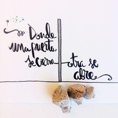 """""""Donde una puerta se cierra, otra se abre"""" - Miguel de Cervantes Frase del día de dandelion1st.com =) ¡Sigue el mejor tablero de frases en español de Pinterest! Diseño fresco para mejorar tus días."""
