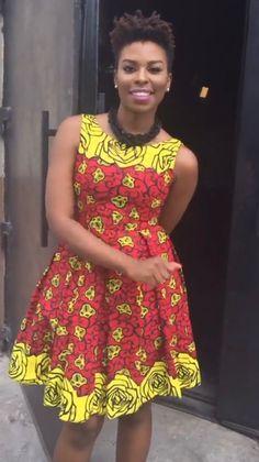 African Wear, African Dress, Ankara Styles, Robes, Short Dresses, Career,