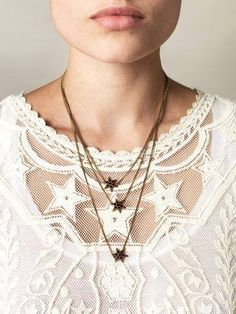 #stars #necklace