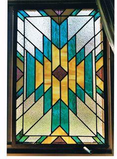 Southwest Stained Glass Patterns Southwest Desert Scene
