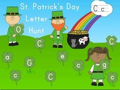 St. Patrick's Day Letters, Letter Sounds Activity (Differentiated, Common Core Aligned) from Tina's Top Dog Teaching Resources on TeachersNotebook.com -  - This St. Patrick's Day Letters and Letter Sounds Activity is a fun, hands-on literacy game for practicing and increasing letter identification and letter sounds.