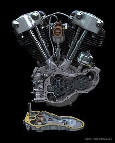 Shopping for Harley Davidson Motorcycle Part Moteurs Harley Davidson, Harley Davidson Engines, Harley Davidson Knucklehead, Harley Davidson Motorcycles, Hd Motorcycles, Vintage Motorcycles, Bike Engine, Bobber Motorcycle, Steampunk Motorcycle