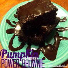 Chocolate Pumpkin POWER Brownie