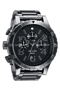Nixon 'The 48-20' Chronograph Watch, 48mm available at #Nordstrom