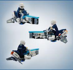 More angles on unit 267 Lego Custom Minifigures, Lego Minifigs, Lego Mechs, Lego Bionicle, Star Wars Film, Lego Hand, Lego Machines, Lego Ship, Lego Spaceship