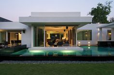 Sleek Indian House For A Family Of Three