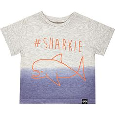 Mini boys hashtag sharkie t-shirt