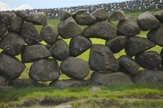 Dry stone wall, Ireland. Local residents are encouraged to erect and maintain stone walls. There are hundreds of thousands of miles of dry s...