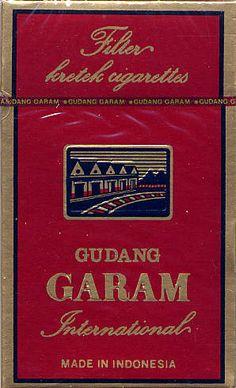 Gudang Garam International - An Indonesian original kretek brand, first marketed on November 1979 in Kediri, East Java