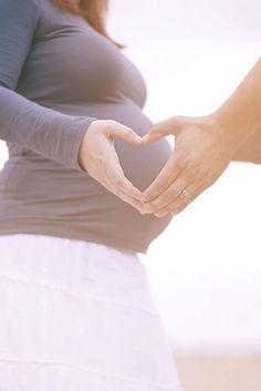 Schwangerschaft, Shooting, Partner, Pose, Herz