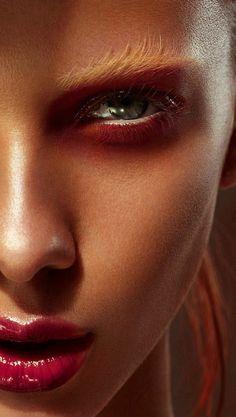 BENJAMIN BECKER for #bigshot360 Magazine beauty makeup lips nails