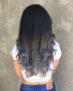 50 Fantastic Silver Ombre Hair Ideas — Precious Locks Check more at…