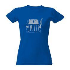 Pořiďte si úžasný produkt Tričko s potiskem Smile!. Rychlé dodání. Kvalitní potisk.
