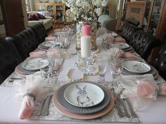 The Welcomed Guest: Pastel Easter Table