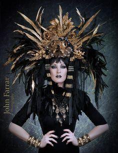 greek goddess with headdress - Google Search