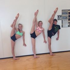 Chloe at her new dance studio! I bet the girls at Abby Lee Miller Dance Studio miss her !<3