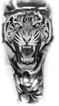 Tattoos And More – Tattoos News Pics Videos And Info Hand Tattoos, Lion Head Tattoos, Lion Tattoo, Body Art Tattoos, Tiger Tattoo Sleeve, Calf Tattoo, Sleeve Tattoos, Tiger Hand Tattoo, Tiger Tattoo Design