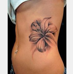 12 Lily Flower Tattoos Design Ideas