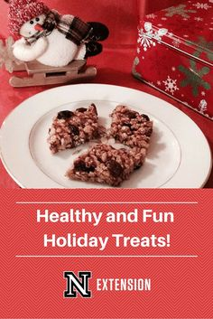 Great ideas for healthy and fun holiday snacks!