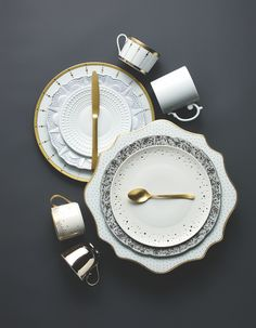 China inspiration!! Loving how they used L'Objet & Anna Weatherley - in love!