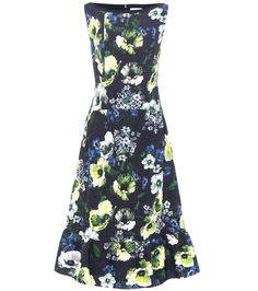 ERDEM Bedrucktes Kleid Heta Aus Jacquard. #erdem #cloth #kleider