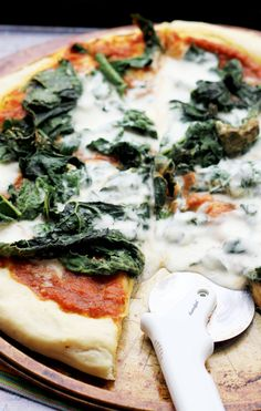 Don't limit your pumpkin consumption to a few months of the year! Make it an every day food with this pumpkin-chipotle pizza with kale and burrata.