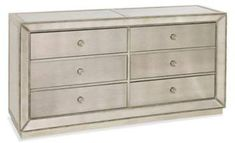 New Bassett Mirror Murano 6 Drawer Chest, Antique Mirror online - Toplikeclothes 9 Drawer Dresser, 6 Drawer Chest, Dresser With Mirror, Dresser As Nightstand, Chest Of Drawers, Mirrored Bedroom Furniture, Mirror Bedroom, Furniture Decor, King Bedroom Sets
