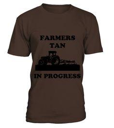 Farmers tan in progress