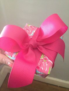 I like to throw some Lilly between my bows #LillyHoliday