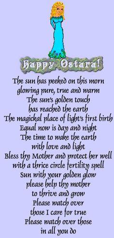 Spring Equinox:  Happy Ostara!