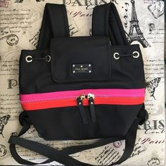 Kate Spade Matty nylon backpack Brand new! Authentic. See last pic for item description kate spade Bags Backpacks