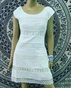 Simple Kurti Designs, Casual Outfits, Cute Outfits, Office Dresses, Elegant Dresses, Boho Dress, Casual Looks, Dresses Online, Boho Chic