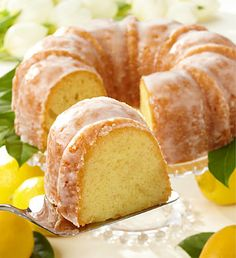 Luscious Fresh Lemon Cake with Lemon Icing