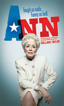 Ann Richards: Texas second female governor, #Baylor University Class of 1954, and now the subject of a Broadway play. #sicem