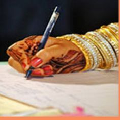 Court marriages are performed under the special marriage Act of 1954 in India.  This type of marriage can be performed between an Indian male and female, irrespective of their religion, caste or creed.  Click here for more details.